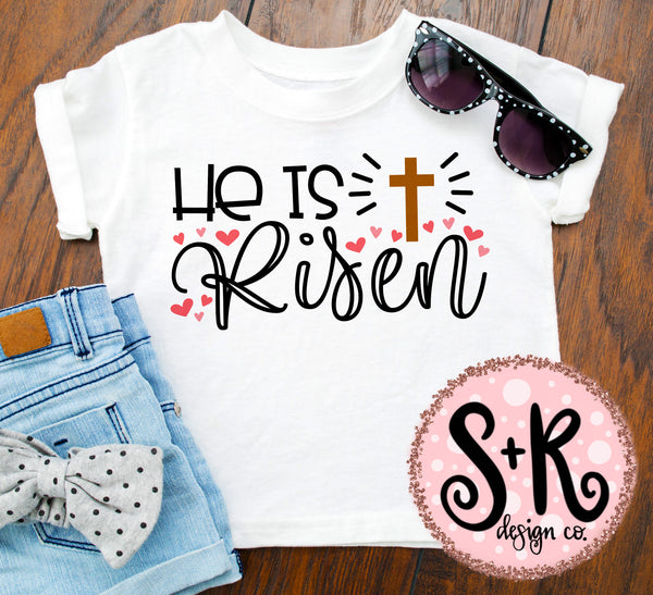 He is Risen SVG DXF PNG (2019)