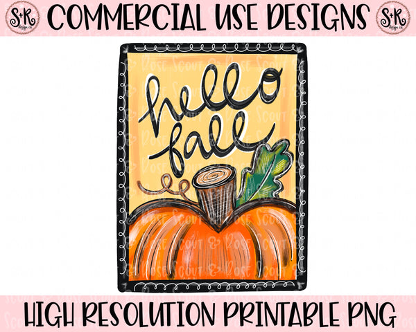 Hello Fall Printable Design (2020)