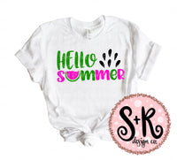 Hello Summer Melon SVG DXF PNG (2019)