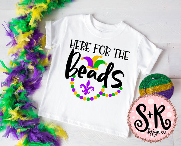 Here For The Beads SVG DXF PNG (2019)