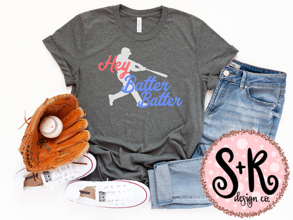Hey Batter Batter SVG DXF PNG (2019)