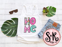 Home Shabby Chic Pink & Aqua Sublimation (2019)