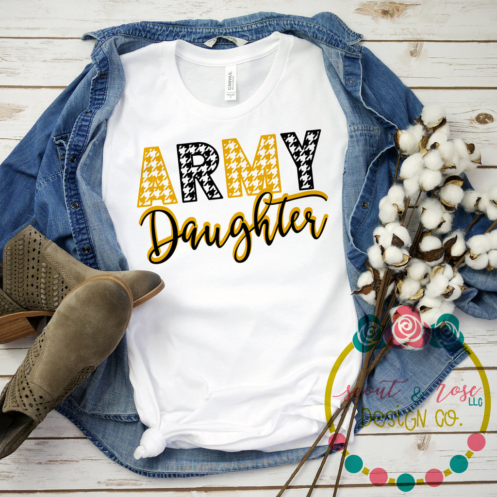 Army Daughter SVG DXF PNG (2019)