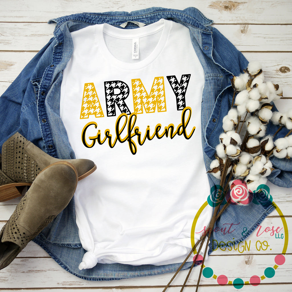Army Girlfriend SVG DXF PNG (2019)