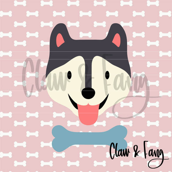 Claw & Fang Husky Cut File