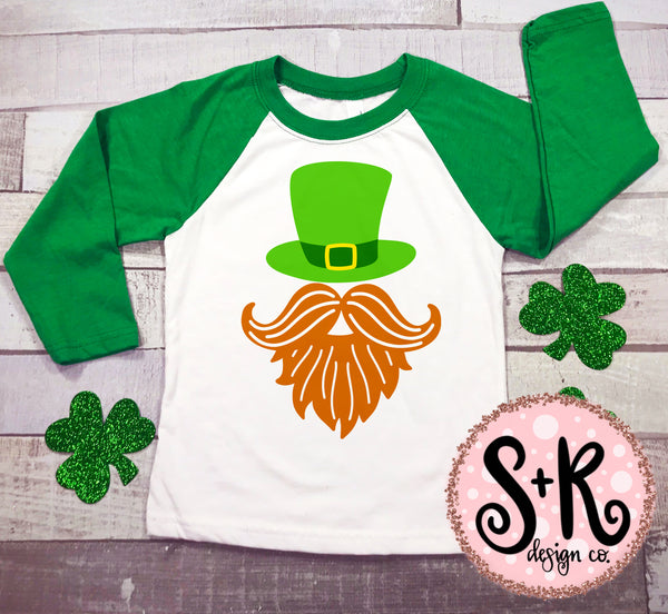 St. Paddys Beard/Hat SVG DXF PNG (2019)