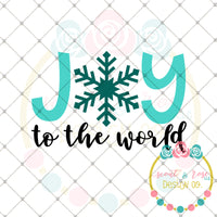 Joy to the World SVG DXF PNG