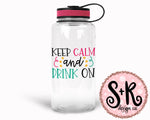 Keep Calm and Drink On SVG DXF PNG (2019)