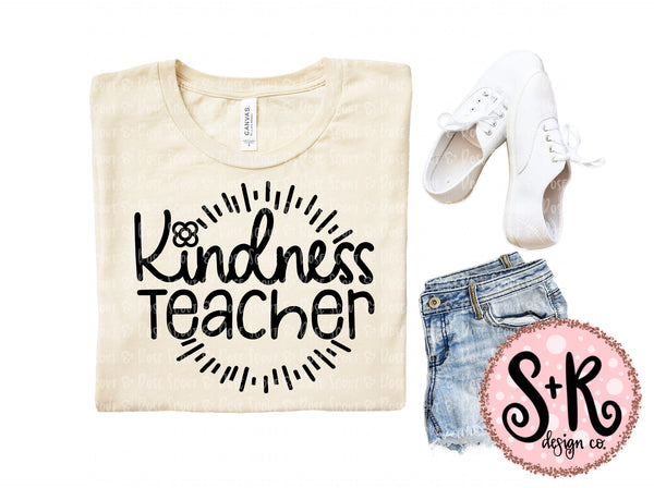 Kindness Teacher SVG DXF PNG (2019)