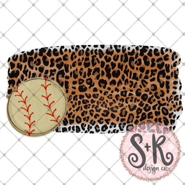 Leopard Baseball Printable Design (2019)