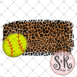 Leopard Softball Printable Design (2019)