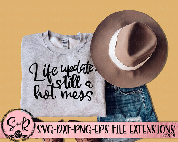 Life Update SVG DXF PNG EPS (2021)