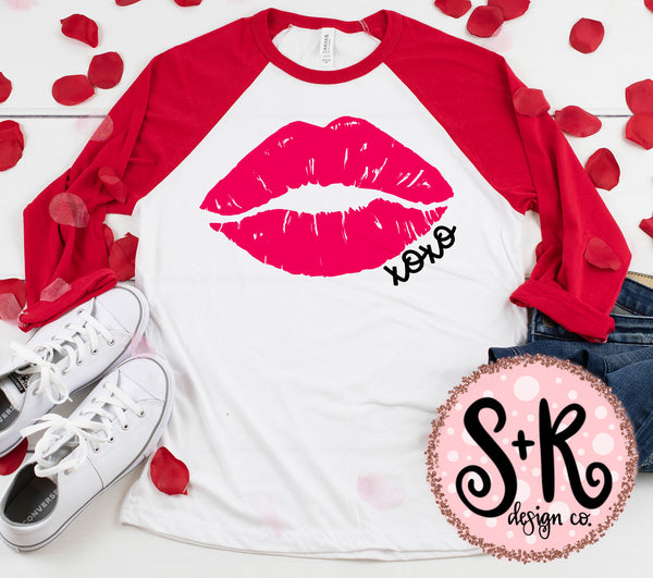 XOXO Lips SVG DXF PNG (2019)