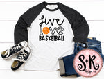 Live Love Basketball SVG DXF PNG (2019)