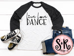 Live Love Dance SVG DXF PNG (2019)