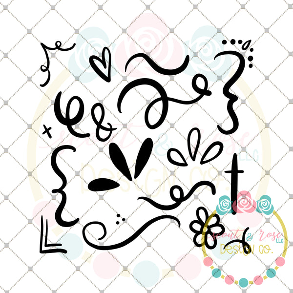 Lots of Doodles SVG DXF PNG