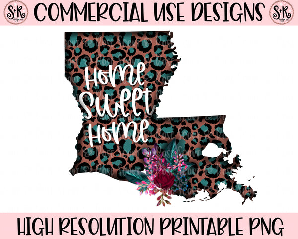Louisiana Printable Design (2019)