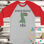 Love-a-Saurus SVG DXF PNG