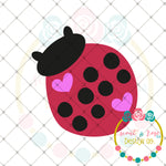 Lovebug Lady Bug SVG DXF PNG