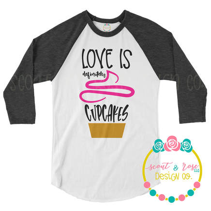 Love Cupcakes SVG DXF PNG