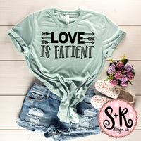 Love Is Patient SVG DXF PNG (2019)