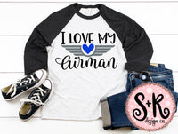 I Love My Airman SVG DXF PNG (2019)