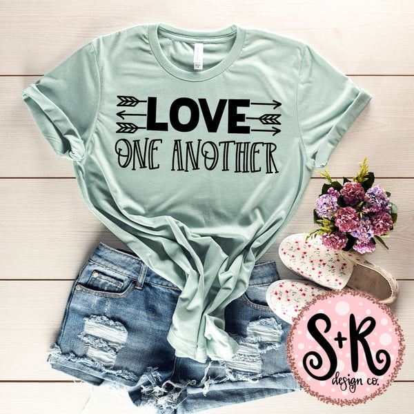 Love One Another SVG DXF PNG (2019)