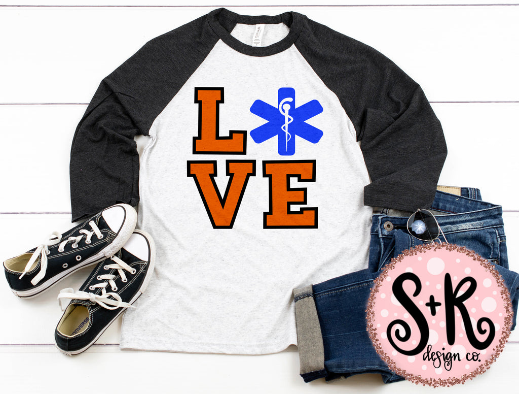 Love Paramedic SVG DXF PNG (2019)