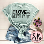 Love Never Fails SVG DXF PNG (2019)