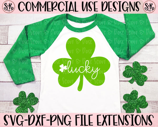 Lucky Clover SVG DXF PNG (2020)