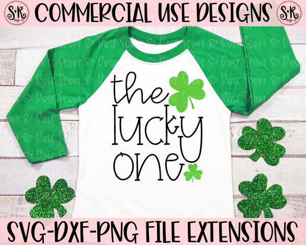 The Lucky One SVG DXF PNG (2020)