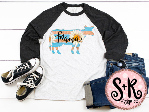 Mama Daisy Cow Sublimation/Printable PNG Design (2019)