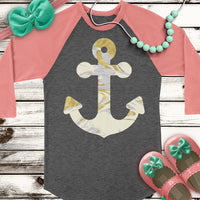 Marble Anchor SVG DXF PNG