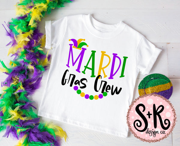 Mardi Gras Crew SVG DXF PNG (2019)