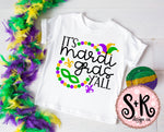 Mardi Gras Y'all SVG DXF PNG (2019)