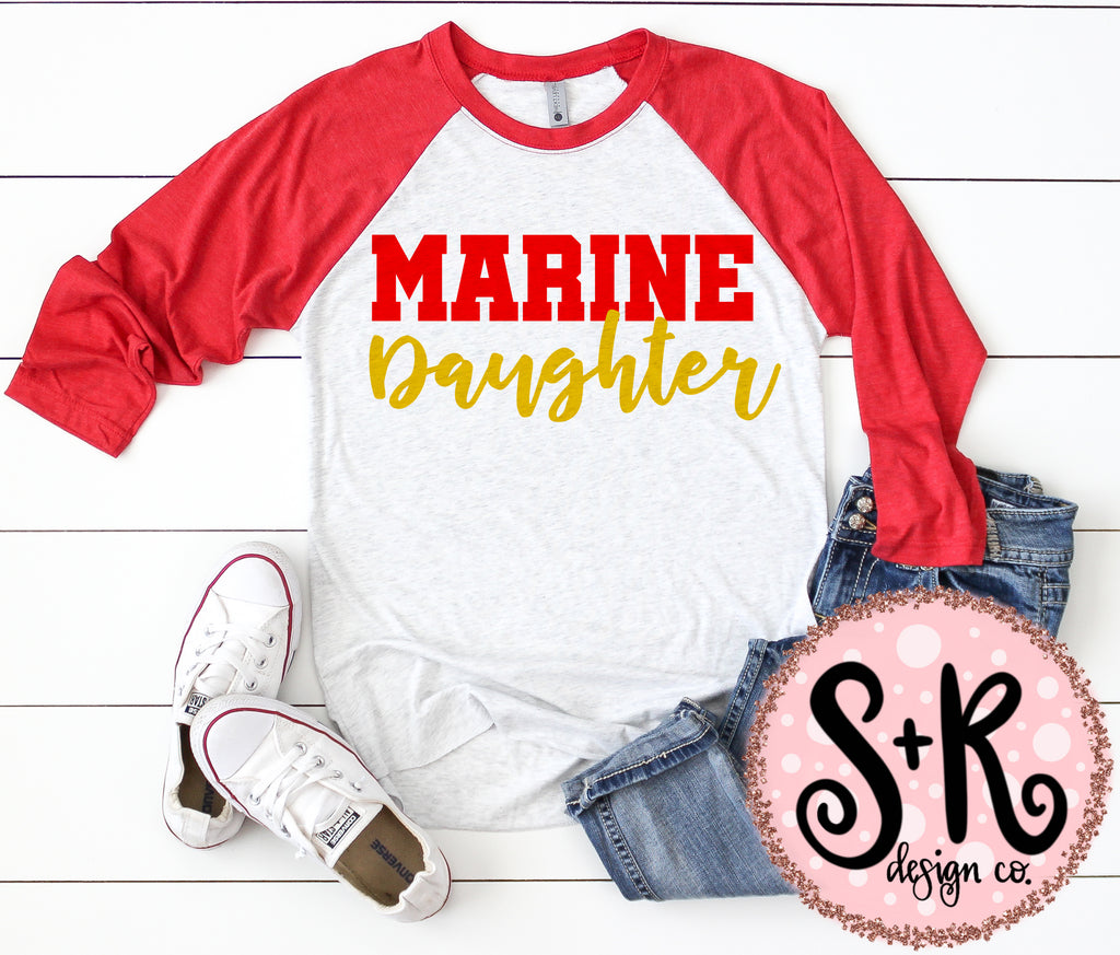 Marine Daughter SVG DXF PNG (2019)