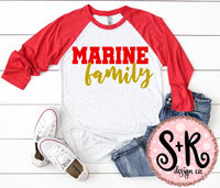Marine Family SVG DXF PNG (2019)