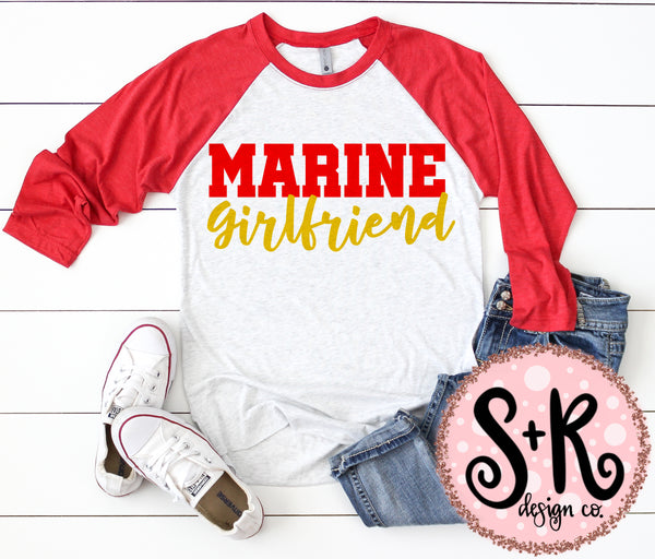 Marine Girlfriend SVG DXF PNG (2019)