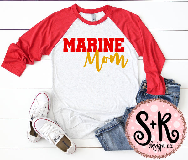Marine Mom SVG DXF PNG (2019)