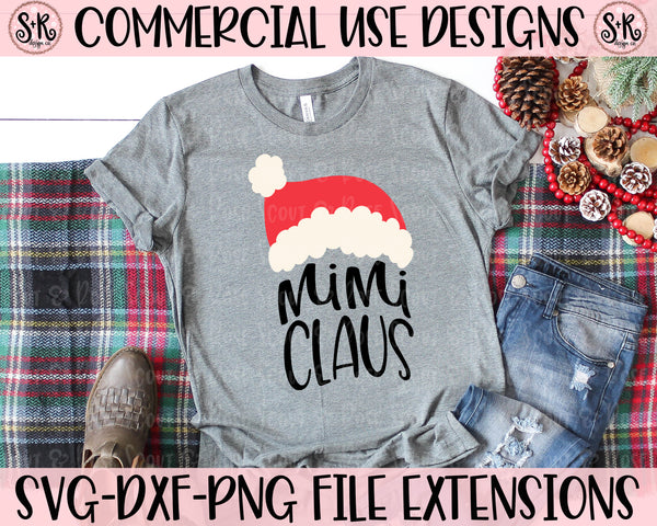Mimi Claus SVG DXF PNG (2019)
