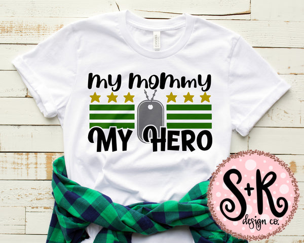 My Mommy My Hero SVG DXF PNG (2019)