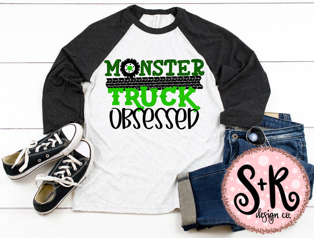 Monster Truck Obsessed SVG DXF PNG (2019)