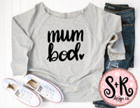 Mum Bod SVG DXF PNG (2019)