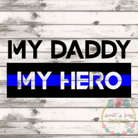 Daddy Hero SVG DXF PNG