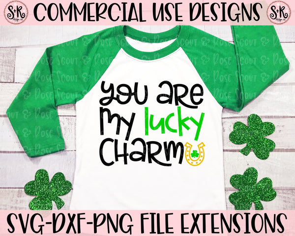 You Are My Lucky Charm SVG DXF PNG (2020)