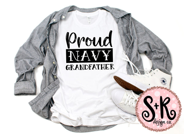 Navy Grandfather SVG DXF PNG (2019)