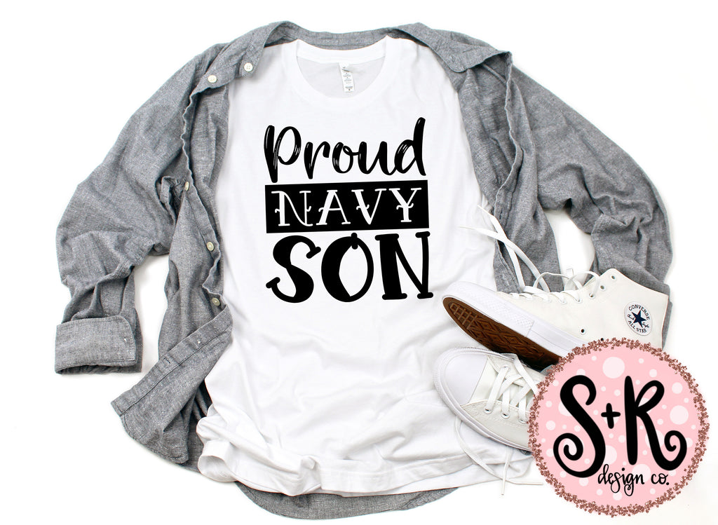 Navy Son SVG DXF PNG (2019)