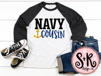 Navy Cousin SVG DXF PNG (2019)