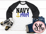 Navy Mom SVG DXF PNG (2019)