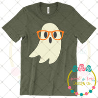Nerdy Ghost SVG DXF PNG